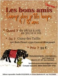 Camp des p'tits loups